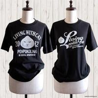 Livingwithcat 肉まんポンコ半袖Tシャツできました - 賃貸ネコ暮らし|賃貸住宅でネコを室内飼いする工夫