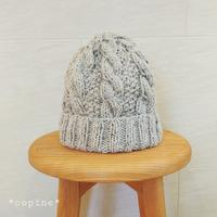 ニット帽を - *編み物のある生活 tsukurimono*