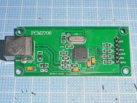 PCM2706+PCM5102 完成基板組み合わせ USB-DAC - TYO.STDのおきらく写真生活