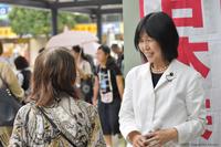 長寿大会でごあいさつ東京・東久留米市 - こんにちは 原のり子です