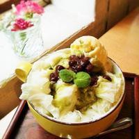 香椎「珈琲豆屋 Nanの木」2回目 - 福岡の抹茶かき氷