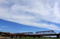 高瀬橋梁(JR鹿児島本線)。 - 青い海と空を追いかけて。