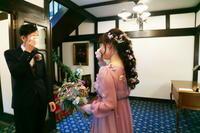 未来からの手紙 若手アシスタントさんの結婚式に - 一会 ウエディングの花
