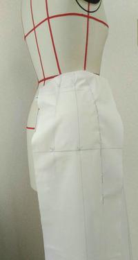 ゴアードスカート(6枚ハギ)③ - Salon de Sanuu オートクチュール(婦人服お仕立て)・洋裁教室