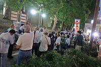 テントひろば 警視庁抗議MX「ニュース女子」抗議行動22 - ムキンポの亀尻ブログ