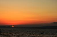 長崎に沈む夕日を望むⅡ。 - 青い海と空を追いかけて。
