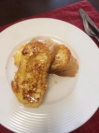 フレンチトースト - 庶民のショボい食卓