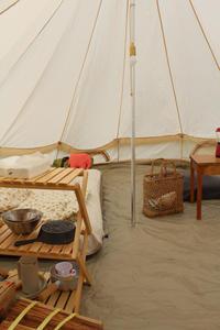 はじめてのテントキャンプ - ひづきの森 「はじまりはお家から」