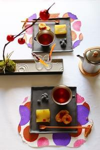 お茶な9月。~第3章 まぼろしの台湾紅茶~ - 神戸・芦屋発 お茶とお菓子とテーブルコーディネート