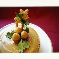 秋のケーキデコレーション - シュガーデコレーション教室
