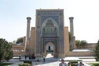 ウズベキスタンの旅―イスラム建築を訪ねて(4)碧の都サマルカンド - 碧ざくろタイル