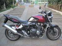 CB1300 SUPER FOUR E Package Special Edition - バイクの横輪