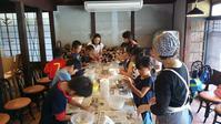 子供たちとのピザ作り - al Ragu' 2012 fukusumumacidayori