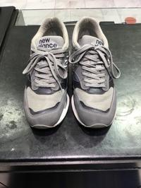 ニューバランス1500(グレー)お手入れ方法 - ルクアイーレ イセタンメンズスタイル シューケア&リペア工房<紳士靴・婦人靴のケア&修理>