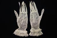 手編みレース手袋13   sold out! - スペイン・バルセロナ・アンティーク gyu's shop
