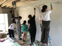 RRP 202号室 壁塗りワークショップ - satoshi_kaneyan