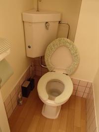排水があふれそう貸店舗のトイレ点検 - 快適!! 奥沢リフォームなび