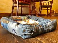 犬用ベッド作りました - カンパーニュママの一眼レフ生活とポメプーころすけと日々の出来事日記