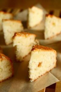 卵白だけのバターケーキ - 小麦の時間   京都の自宅にてパン教室を開催