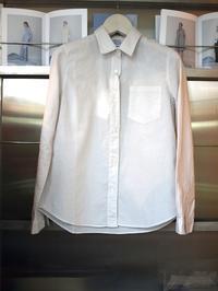 軽やかな着心地 MILFOILオーガニックコットンシャツ - FASHIONSCAPE-TOWNSCAPE