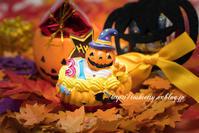 笑うかぼちゃケーキくん。。☆ - necessary or unnecessary