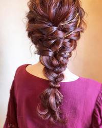 退色した髪はハナヘナで色味補充が一番♪ - 君津市 南子安の美容室  La Face   ✯   ラフェイス のブログ