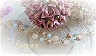 天然石のブレスレット - Bijoux  du  Bonheur ~ビジュー ドゥ ボヌール~