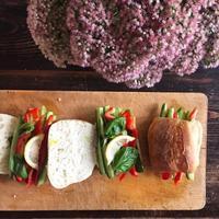 Veg Sandwich - 烏帽子への風