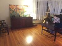 リビングルームに絵を飾ろう - にゃんこと暮らす・アメリカ・アパート