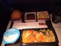 機内食(カタール航空:QR807便) - せっかく行く海外旅行のために