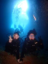 9月22日のんびり体験ダイビング - 沖縄・恩納村のダイビング・青の洞窟体験ダイビング・スノーケルご紹介