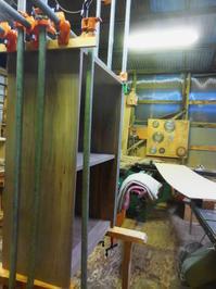 カップボードの組み立て2回目 - 手作り家具工房の記録