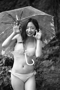 椎山なつみちゃん8 - モノクロポートレート写真館