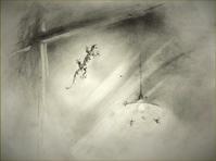 《【アーカイブス】120924『ヤマセミの渓から――― ある谷の記憶と追想》 - 『Gallery tanasita 1735』croquis・drawing・dessin・ sketch