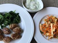 最近二日間の夕食♪キョフテ&宮保鶏丁♪ - やせっぽちソプラノのキッチン2
