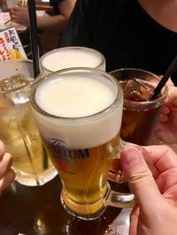 術後初の飲酒 - 記録・甲状腺乳頭癌(ついでに食べ歩き記録も)