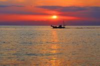 初秋海の夕日を見に - さいたま日記