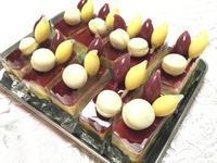 試食用のケーキ製作中 - 恋するお菓子