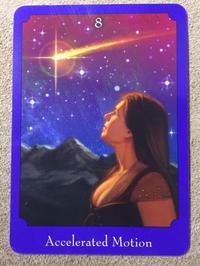 月曜のメッセージ:サイキック・タロット・オラクルカード直観リーディング:魂のカード8 - アトリエkeiのスピリチュアルなシェアノート