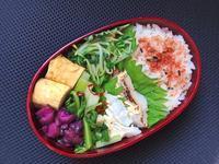 9/26鱈のマヨ焼き弁当 - ひとりぼっちランチ