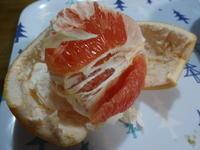 グレープフルーツの食べ方 - がちゃぴん秀子の日記