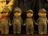 """""""1940'S BUDDY LEE HICKORY STRIPE HOUSE TAG""""ってこんなこと。 - THE THREE ROBBERS ってこんなこと。"""