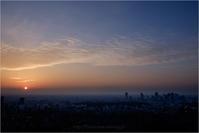 sunset of the city - りゅう太のあしあと