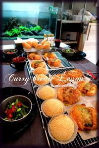 カレーパン&ドーナツ - KuriSalo 天然酵母ちいさなパン教室と日々の暮らしの事