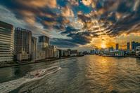 記憶の残像 2017年花の東京 -44東京都中央区勝鬨橋辺り - ある日ある時 拡大版
