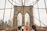 ブルックリン橋のラブ・ロック - NY/Brooklynの空の下