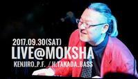 LIVE@MOKSHA - なにわのBILLY JOEL,KENJIRO,ビリージョエル全曲カバーに挑戦中!