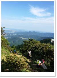 いつか富士山へ 筑波山より - お散歩日和+カエル達