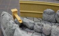 ミニレイアウト(12)~ 露天風呂リベンジ(2) - 【趣味なんだってば】 鉄道模型とジオラマの製作日記
