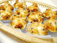 アマンドチョコロールとグラハムロール - パンとお菓子と美味しい時間 (パン教室ココット)